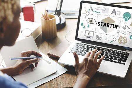 Start up Business Launch Development Concept
