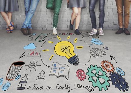 Project Management Strategie Proces Planning Organisatie Concept Stockfoto