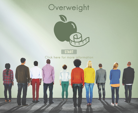 eating food: Overweight Diet Eating Disorder Unhealthy Diabetes Fat Concept