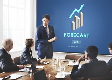 foretell: Forecast Future Planning Predict Stratgey Trends Concept