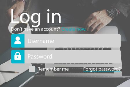 signup: Sign-Up Log-in Password Membership Network Concept