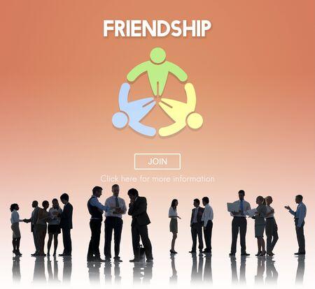 togetherness: Friendship Team Friend Togetherness Concept