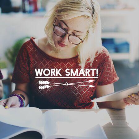 book reviews: Work Smart Productive Effective Management Concept