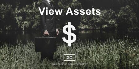 眺めの資産会計プロパティ値の概念