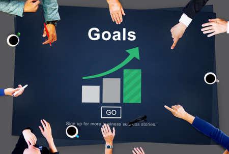 believe: Goals Aspiration Dreams Believe Aim Target Concept