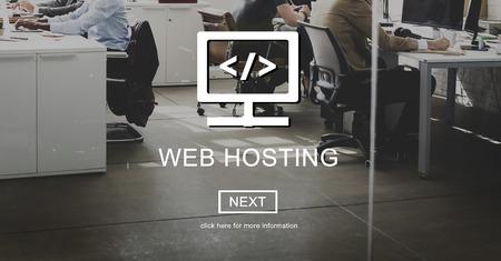 웹 호스팅 서버 웹 사이트 사용자 시스템 개념