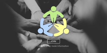 join here: People Community Society Global Concept Stock Photo