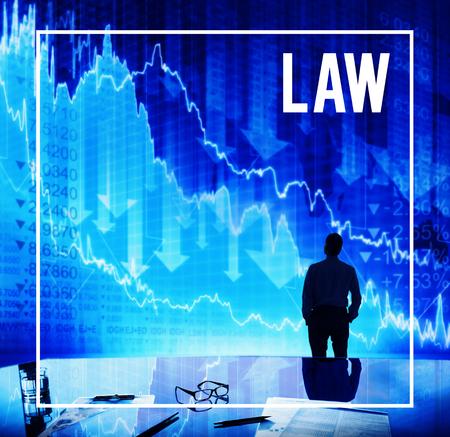 enforcement: Law Lawyer Legal Enforcement Concept Stock Photo