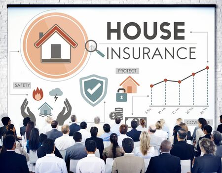 health service: House Insurance Security Property Protection Concept Stock Photo