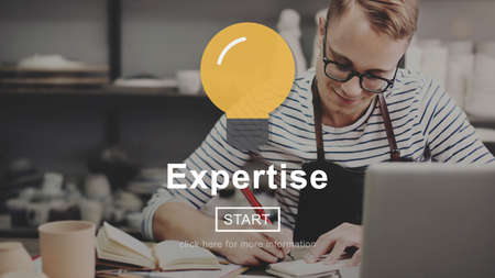 expertise: Expertise Excellence Ability Brilliant Concept Stock Photo