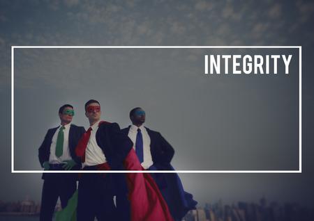 cocnept: Superhoroes Businesssmen Custome Leadership Team Cocnept