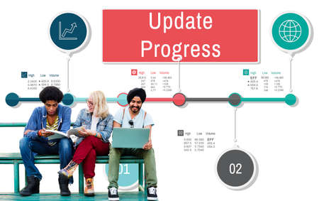 proceed: Update Progress Improvement Proceed Information Concept