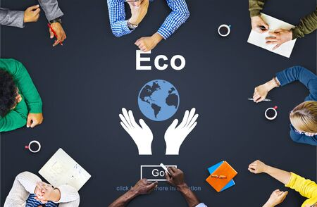 ecosystems: Ecology Environment Conservation Earth Concept