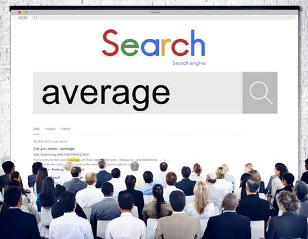 average guy: Average Ordinary Common Regular Concept