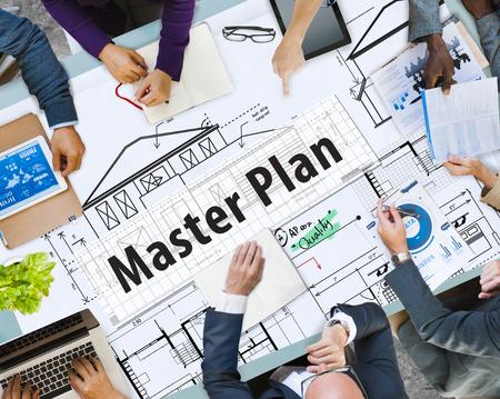 Masterplan met brainstormconcept
