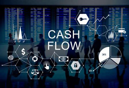 cash flow: Cash Flow Finance Economy Revenue Funds Investment Concept