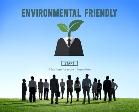 natural resources: Respetuoso del medio ambiente Va el concepto verde de Recursos Naturales Foto de archivo