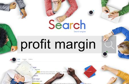 margen: Profit Margin Payments Budget Accounting Ratio Concept