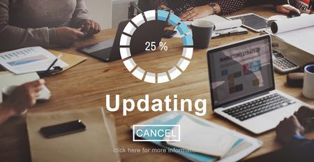 upgrade: Updating Upgrade Software Program Data Technology Concept