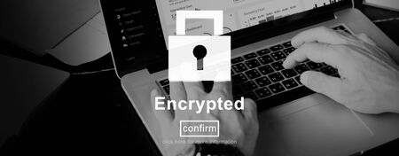 encryption: Encryption Binary Computer Password Private Safe Concept