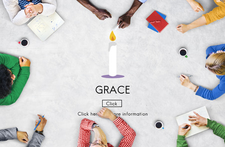Grace Elegance Faith Refinement Religion Spirit Concept
