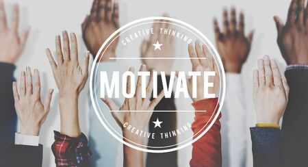 encourage: Motivate Aspiration Goal Encourage Inspiration Expectations Concept
