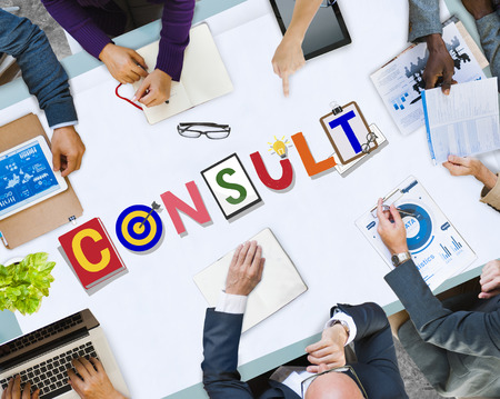 Consult with brainstorming concept