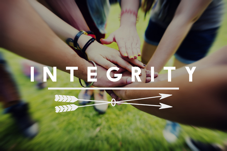 Integrity Fairness Honesty Loyalty Moral Motivation Concept