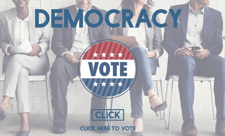 freedom: Democracy Democrats Human Rights Liberty Freedom Concept Stock Photo