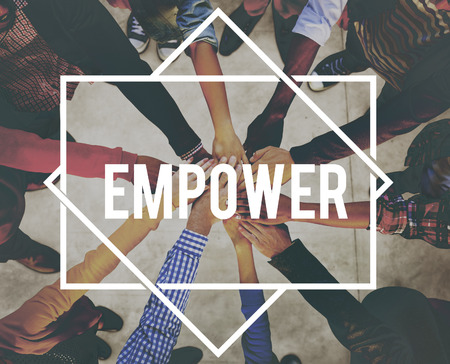 liberate: Empower Enable Authorize Liberate Power Concept