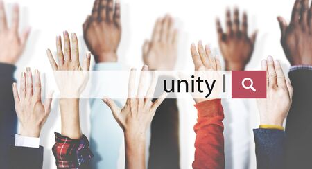 african solidarity: Unity Teamwork Togetherness Support Partnership Concept