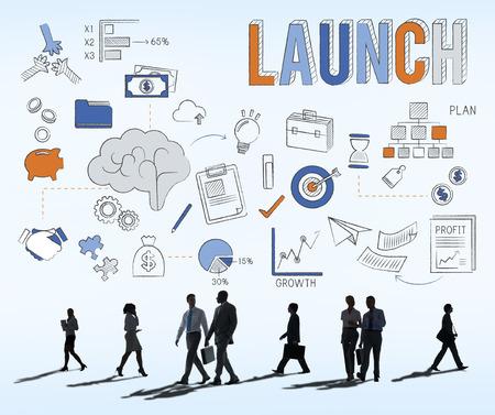 empezar: Lanzamiento Begin Introducir lanzar el nuevo concepto del asunto