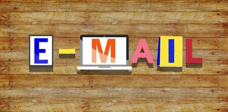 correspondencia: Concepto de correo electrónico correspondencia Comunicación Online