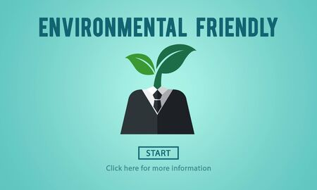 natural resources: Environmental Friendly Go Green Natural Resources Concept