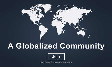 globalized: Globalized Community Unity Connection Network Concept