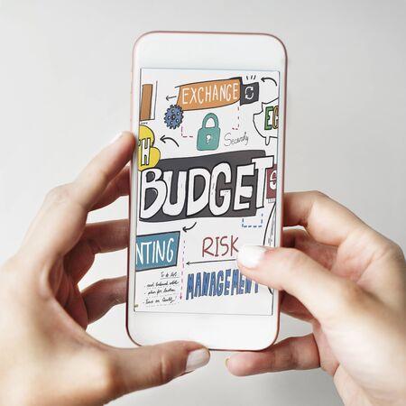 cash flow: Budget Finance Business Cash Flow Concept