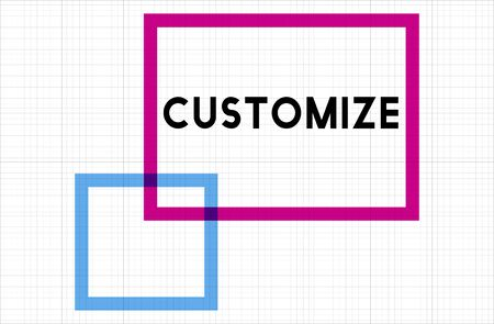 modify: Customize Modify Ideas Adjust Creativity Customization Concept