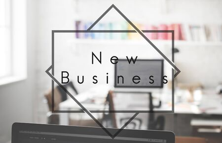 new ideas: New Business New Ideas Launch Concept