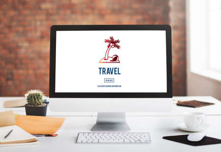 exploration: Travel Traveler Exploration Destination Concept Stock Photo