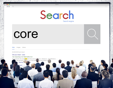 moral: Core Values Ideology Word Moral Concept Stock Photo