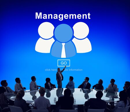 managing: business, coaching, controlling, coordination, dealing, management, manager, managing, mentor, organization, process, roles of management, strategy, supervising, word Stock Photo