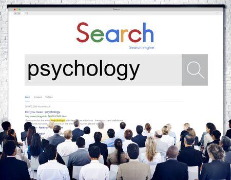 psyche: Psicolog�a mental mentalidad mente el concepto de ciencia psique Foto de archivo