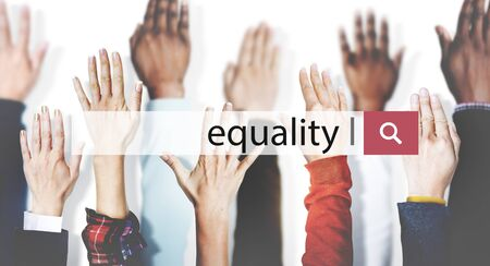 Equality Balance Fairness Respect Relationship Concept Reklamní fotografie
