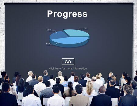 Progress Development Imrpovement Advancement Concept Stock Photo