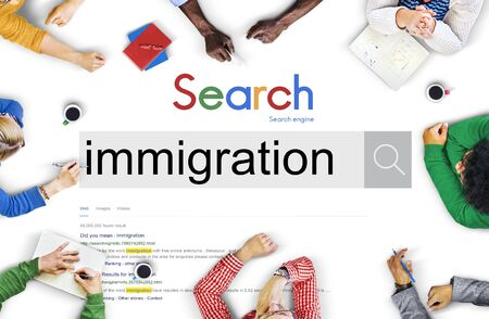 asylum: Immigration People Dibersity Asylum Concept