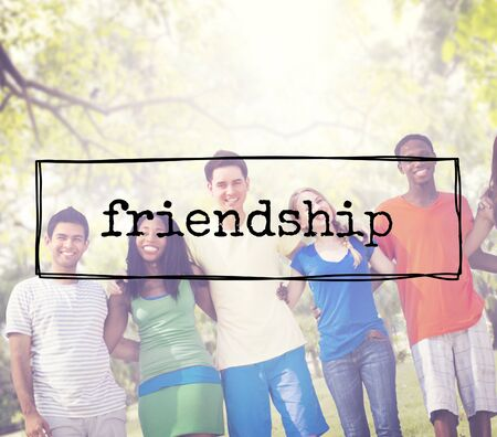 trato amable: Friends Friendship Partnership Support Friendliness Concept