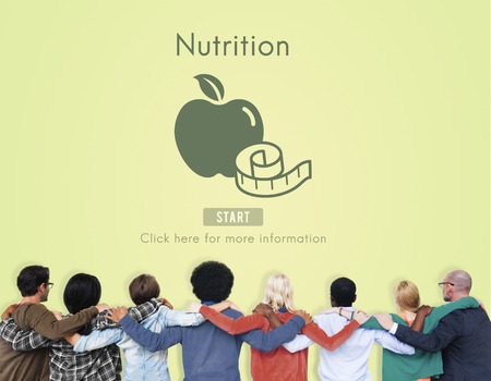 huddle: Nutrition Healthy Eating Diet Food Nourishment Concept