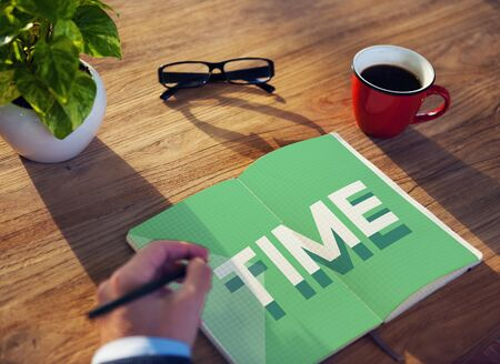 duration: Time Management Punctual Duration Schedule Concept