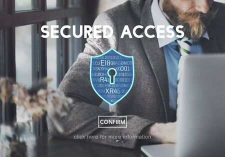 secured: Secured Access Data Protection Security Concept