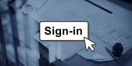 guidepost: Sign-In Guidepost Information Message Pattern Concept